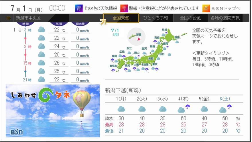 市 区 天気 中央 新潟