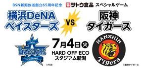 2017年 プロ野球セ・リーグ公式戦 横浜DeNAベイスターズ vs 阪神タイガース
