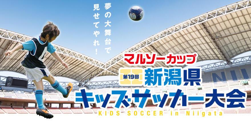 マルソーカップ 第19回新潟県キッズサッカー大会 - TOP