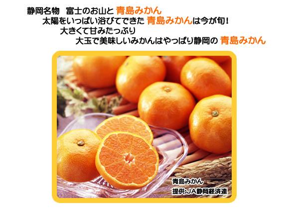 「青島みかん」JA静岡経済連HPへ