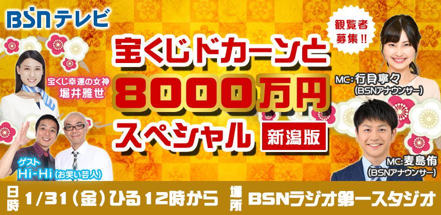 宝くじドカーンと8000万円スペシャル ~新潟版~